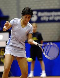 14-12-2006 TENNIS: SKY RADIO TENNIS MASTER: ROTTERDAM<br /> Elise Tamaela <br /> ©2006-WWW.FOTOHOOGENDOORN.NL