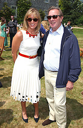 """PADDY MCNALLY and  at a luncheon hosted by Cartier at the 2005 Goodwood Festival of Speed on 26th June 2005.  Cartier sponsored the """"Style Et Luxe' for vintage cars on the final day of this annual event at Goodwood House, West Sussex. <br /><br />NON EXCLUSIVE - WORLD RIGHTS"""
