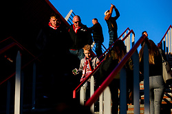 Liverpool fans arrive at Anfield - Mandatory by-line: Robbie Stephenson/JMP - 02/10/2019 - FOOTBALL - Anfield - Liverpool, England - Liverpool v Red Bull Salzburg - UEFA Champions League Group Stage