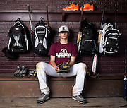 Image of Logan-Rogersville Wildcats pitcher Jacob Schlesener on April 3, 2014 in Rogersville. Schlesener is committed to the University of Arkansas in Fayetteville. (David Welker/For the News-Leader)