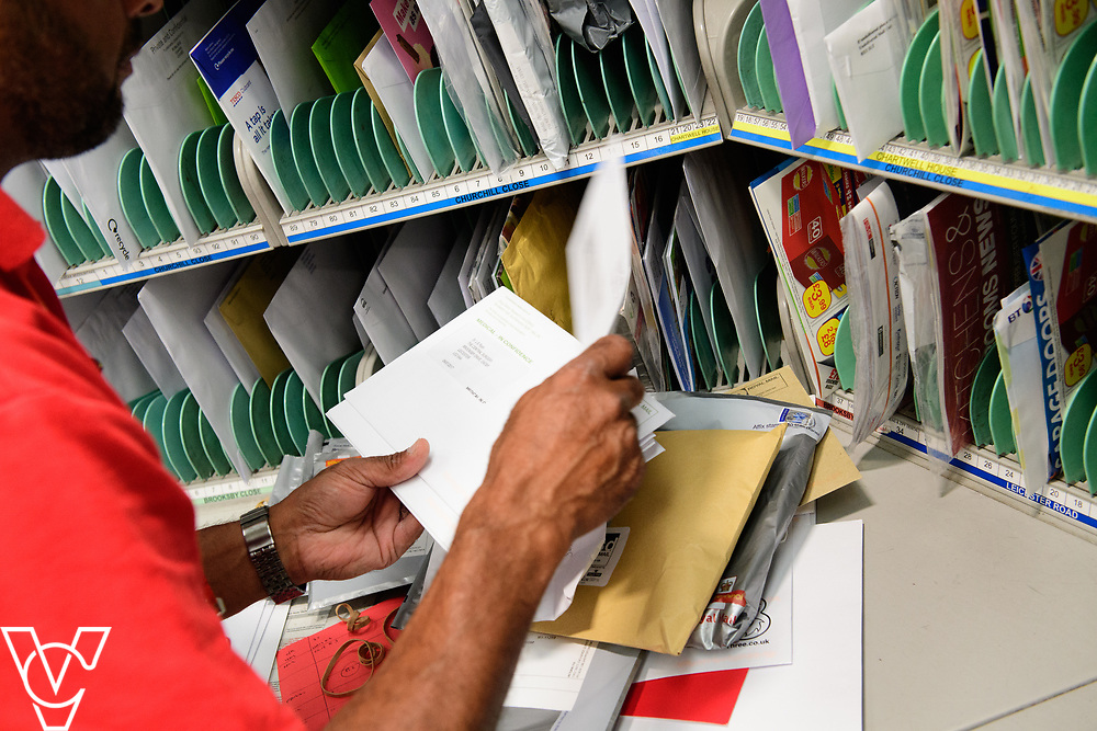 Two delivery offices, Oadby and Leicester South, which are both based inside the Leicester Mail Processing Unit building, have passed the penultimate gateway of One Plan.  One Plan is a business programme designed to have a standardised operation of excellence.  Pictured is Sayed Kadiri.<br /> <br /> Picture: Chris Vaughan Photography<br /> Date: July 7, 2017