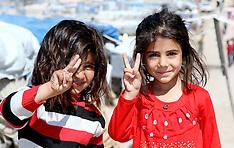 MAR 27 2014 Refugee camp for Syrian civil war refugees