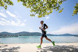 07.07.2019, Klagenfurt, AUT, Ironman Austria, Laufen, im Bild Kristian Hogenhaug (DAN) // Kristian Hogenhaug (DAN) during the run competition of the Ironman Austria in Klagenfurt, Austria on 2019/07/07. EXPA Pictures © 2019, PhotoCredit: EXPA/ Johann Groder