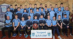 Westport U14 A with coaches and team mentors Division 1 league and Championship Winners.<br />