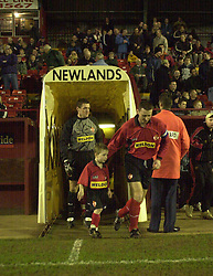 MASCOT KETTERING TOWN, MASCOT HEDNESFORD GAME 12/2/02Kettering Town v Hednesford 12th February 2002