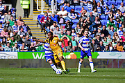 Preston North End Forward Dan Johnson (11) during the Sky Bet Championship match between Reading and Preston North End at the Madejski Stadium, Reading, England on 30 April 2016. Photo by Jon Bromley.