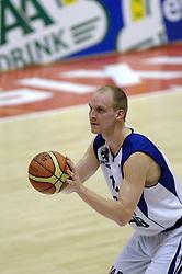 16-09-2006 BASKETBAL: NEDERLAND - ALBANIE: NIJMEGEN<br /> De basketballers hebben ook hun vierde wedstrijd in de kwalificatiereeks voor het Europees kampioenschap in winst omgezet. In Nijmegen werd een ruime overwinning geboekt op Albanie: 94-55 / Peter van Paassen<br /> ©2006-WWW.FOTOHOOGENDOORN.NL