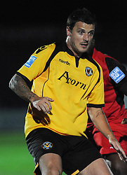 CRAIG McALLISTER, NEWPORT COUNTY, Newport County AFC Kettering Town, Blue Square Premier, Tuesday 18th October 2011