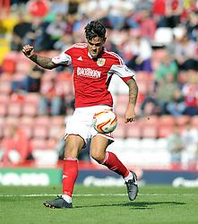 Bristol City's Marlon Pack  - Photo mandatory by-line: Joe Meredith/JMP - Tel: Mobile: 07966 386802 14/09/2013 - SPORT - FOOTBALL -  Ashton Gate - Bristol - Bristol City V Peterborough United - Sky Bet League One