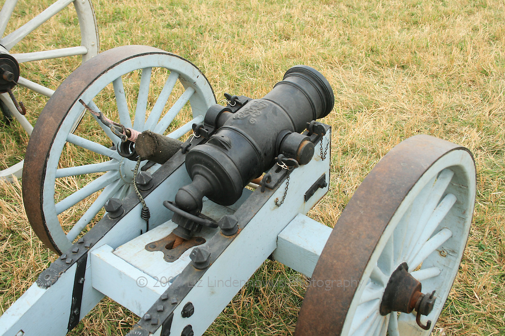 Battle of Saratoga Cannon