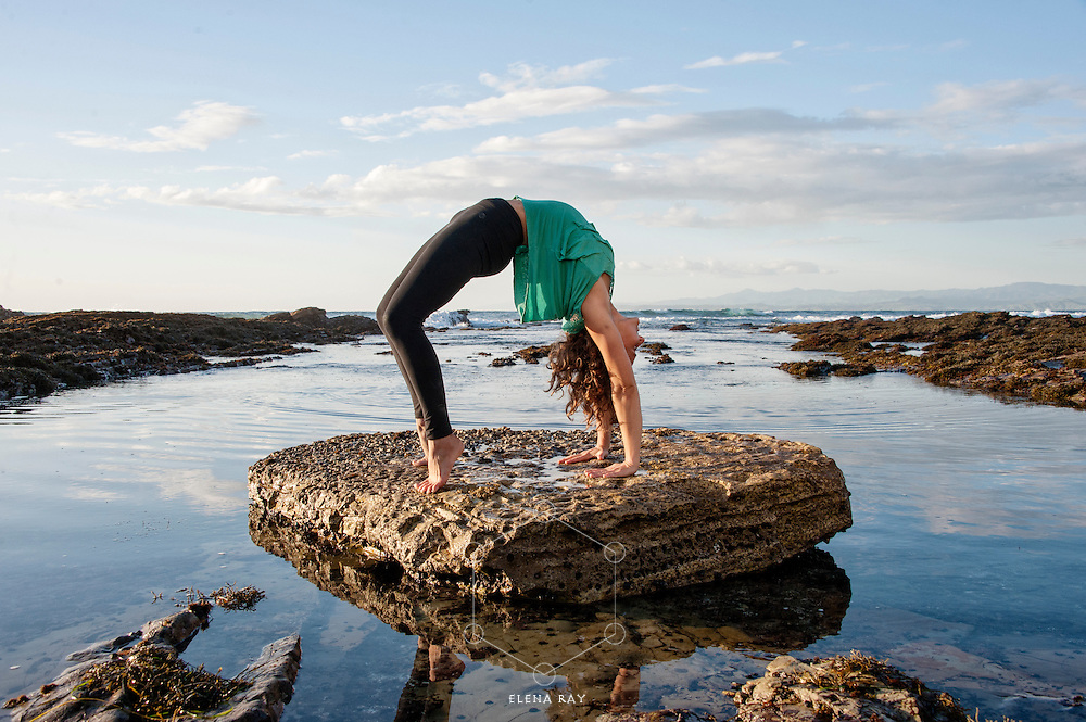 Woman practicing yoga on the breach.<br /> <br /> :::<br /> &quot;The title &lsquo;Power Yoga&rsquo; itself degrades the depth, purpose and method of the yoga system that I received from my guru, Sri. T. Krishnamacharya. Power is the property of God. It is not something to be collected for one&rsquo;s ego. Partial yoga methods out of line with their internal purpose can build up the &lsquo;six enemies&rsquo; (desire, anger, greed, illusion, infatuation and envy) around the heart. The full ashtanga system practiced with devotion leads to freedom within one&rsquo;s heart. &hellip; The Ashtanga yoga system should never be confused with &lsquo;power yoga&rsquo; or any whimsical creation which goes against the tradition of the many types of yoga shastras (scriptures). It would be a shame to lose the precious jewel of liberation in the mud of ignorant body building.&quot;<br /> -Shri K Pattabhi Jois