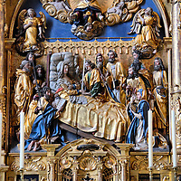 Assumption of the Virgin Mary Plate in Lucerne, Switzerland<br />