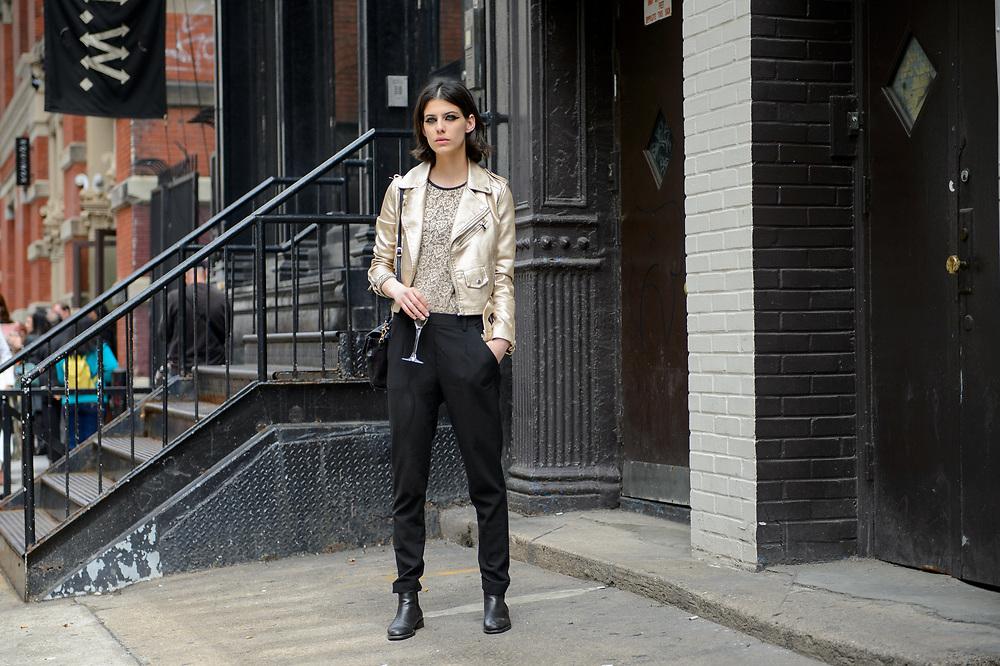 Margot Davy After Valentino Resort 2018