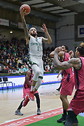 Shot of Terray Petteway of Nanterre 92 team and defense of Malcom Hill of Telekom Baskets Bonn during the Champions League, Group D, basketball match between Nanterre 92 and Telekom Baskets Bonn on January 24, 2018 at Palais des Sports Maurice Thorez in Nanterre, France - Photo I-HARIS / ProSportsImages / DPPI