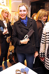 ALLEGRA HICKS at a Champagne & chocolate party hosted by Roger Vivier at their store in Sloane Street, London on 12th February 2009.  The evening was in aid of The Silver Lining charity.