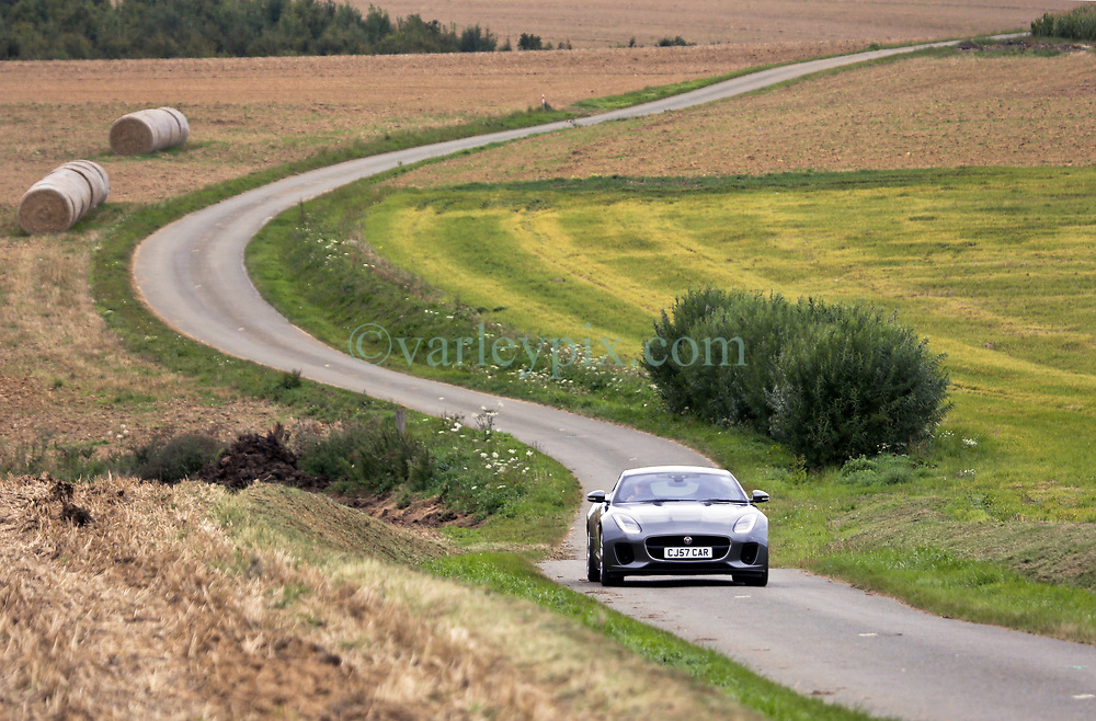 03 Sept 2019. St Denoeux, Pas de Calais, France.<br /> Messing about with cars. With Rob and Mark in the Porsche, Simon in the Lotus Elan Sprint and Chris in the Jaguar.<br /> Photo©; Charlie Varley/varleypix.com