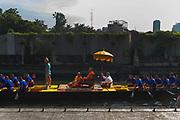 A Royal Barge ceremony along the canals of Thonburi, Bangkok