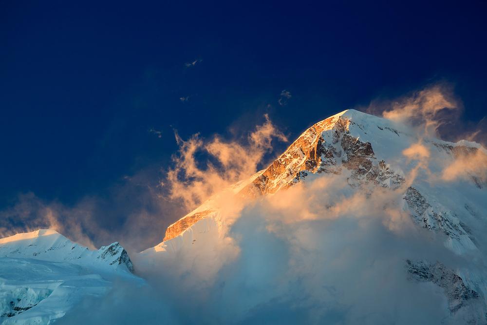 Cho Oyu peak. Sagarmatha National Park. Solukhumbu District. Nepal.