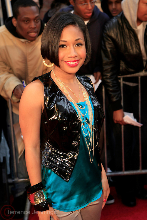 Tiffany Evans at the BET Networks and Paramount special screening of Indiana Jones and the Kingdom of the Crystal Skull at The Magic Johnson Theater in Harlem, NYC on May 20, 2008