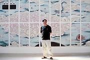 Chinese and Australian artist Guan Wei in Beijing.