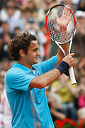 Roland Garros. Paris, France. June 3rd 2007..Roger FEDERER won against Mikahail YOUZHNY.