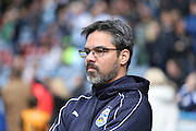 Huddersfield Town Manager David Wagner  during the Sky Bet Championship match between Huddersfield Town and Hull City at the John Smiths Stadium, Huddersfield, England on 9 April 2016. Photo by Simon Davies.