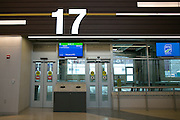 The new RTS Transit Center in Rochester on Saturday, November 15, 2014.