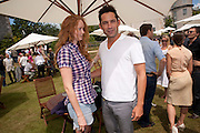 ENRIQUE MURCIANO; LILY COLE, Cartier Style et Luxe at the Goodwood Festival of Speed. Goodwood House. 5 July 2009.