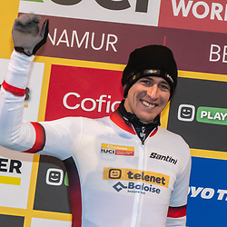 22-12-2019: Wielrennen: Wereldbeker veldrijden: Namenist the new GC leader but may have paid a high price by breaking a rib