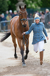 Tattersall Gemma, (GBR), Arctic Soul<br /> First Horse Inspection - Mitsubishi Motors Badminton Horse Trials <br /> Badminton 2015