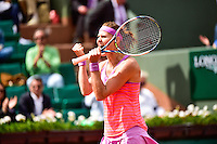Joie Lucie SAFAROVA  - 02.06.2015 - Jour 10 - Roland Garros 2015<br />Photo : David Winter / Icon Sport