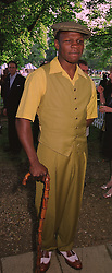 Boxer CHRIS EUBANK at a reception in London on 6th June 1998.MIB 112