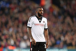 Fulham's Darren Bent - Photo mandatory by-line: Robin White/JMP - Tel: Mobile: 07966 386802 21/10/2013 - SPORT - FOOTBALL - Selhurst Park - London - Crystal Palace V Fulham - Barclays Premier League