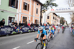 ZOIDL Riccardo (AUT)  and POLANC Jan (SLO)  at finish line during the UCI Class 1.2 professional race 4th Grand Prix Izola, on February 26, 2017 in Izola / Isola, Slovenia. Photo by Vid Ponikvar / Sportida