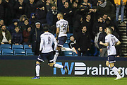 Everton striker Richarlison (30) celebrates his goal during the The FA Cup fourth round match between Millwall and Everton at The Den, London, England on 26 January 2019.