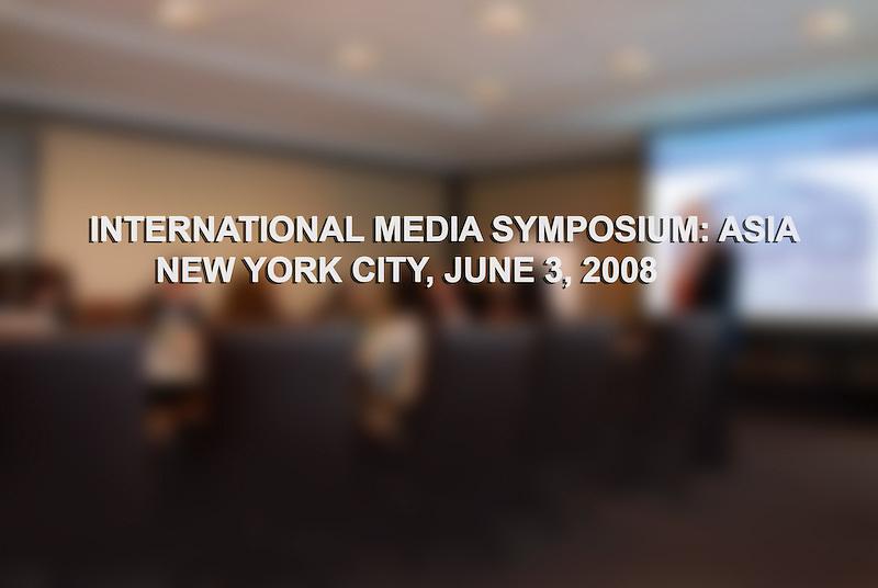 MetLife International Media Symposium: asia