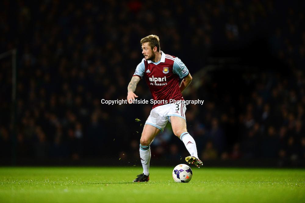 26 March 2014 - Barclays Premier League - West Ham United v Hull City - George McCartney of West Ham United - Photo: Marc Atkins / Offside.