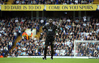 Photo: Chris Ratcliffe.<br /> Tottenham Hotspur v Portsmouth. The Barclays Premiership. 01/10/2006.<br /> Sol Campbell of Portsmouth.
