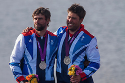 Percy Iain, Simpson Andrew, (GBR, Star)<br /> <br /> <br /> 2012 Olympic Games <br /> London / Weymouth