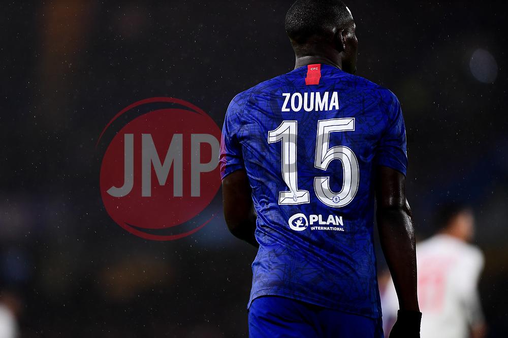 Kurt Zouma of Chelsea  - Mandatory by-line: Ryan Hiscott/JMP - 10/12/2019 - FOOTBALL - Stamford Bridge - London, England - Chelsea v Lille - UEFA Champions League group stage