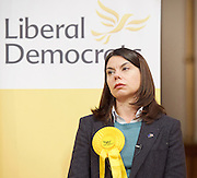 public meeting on Brexit with Sarah Olney Liberal Democrat candidate in the Richmond Park by election at Christ Church, New Malden, Surrey, Great Britain <br /> 26th November 2016 <br /> <br /> <br /> Sarah Olney <br /> <br /> <br /> <br /> <br /> Photograph by Elliott Franks <br /> Image licensed to Elliott Franks Photography Services