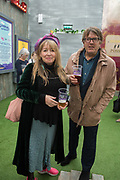 MARY KILLEN, GILES WOOD,  Rory For Leader party at end of campaign. Underbelly Festival Garden<br /> London SE1 8XX. 20 June 2019