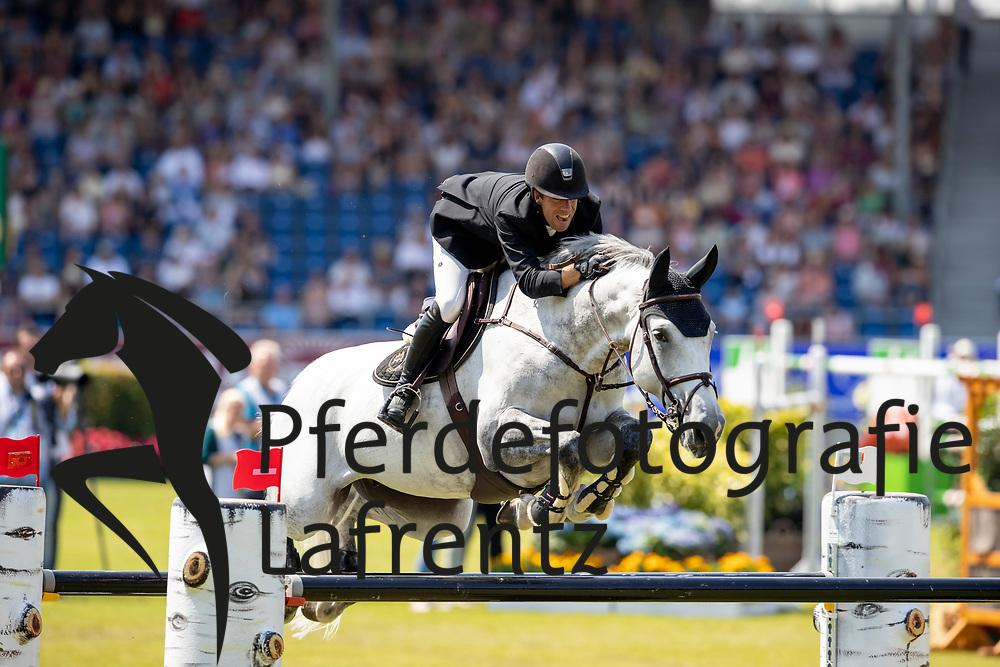 VAN DER VLEUTEN Maikel (NED), Dana Blue<br /> Aachen - CHIO 2018<br /> Preis von Nordrhein-Westfalen<br /> 20. Juli 2018<br /> © www.sportfotos-lafrentz.de/Stefan Lafrentz