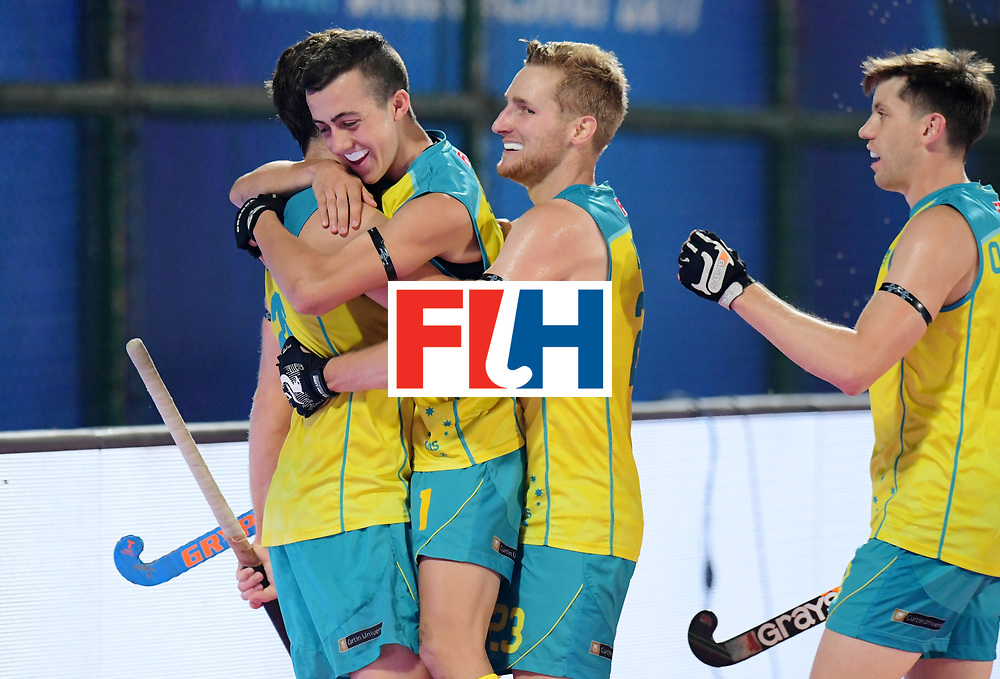 Odisha Men's Hockey World League Final Bhubaneswar 2017<br /> Match id:15<br /> Spain v Australia<br /> Foto: no goal for Australia<br /> COPYRIGHT WORLDSPORTPICS FRANK UIJLENBROEK