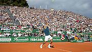 &copy; Filippo Alfero<br /> Monte-Carlo Tennis Masters 2014, semifinali<br /> Monaco, 19/04/2014<br /> sport tennis<br /> Nella foto: Roger Federer