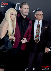 Writer Victoria Gotti, John Travolta and John A. Gotti attending the New York Premiere of 'Gotti' at SVA Theater on June 14, 2018 in New York City, NY, USA. Photo by Dennis Van Tine/ABACAPRESS.COM