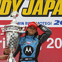 2008 INDYCAR RACING DANICA PATRICK JAPAN