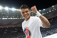 Joie PSG - Thiago Silva - 30.05.2015 - Auxerre / Paris Saint Germain - Finale Coupe de France<br />