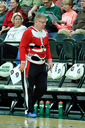 BLOOMINGTON, IL - December 15: Vinny during a college women's basketball game between the IWU Titans  and the Carroll Pioneers on December 15 2018 at Shirk Center in Bloomington, IL. (Photo by Alan Look)