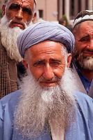 A muslim man in Dushanbe the capital of Tadjikistan, 1992